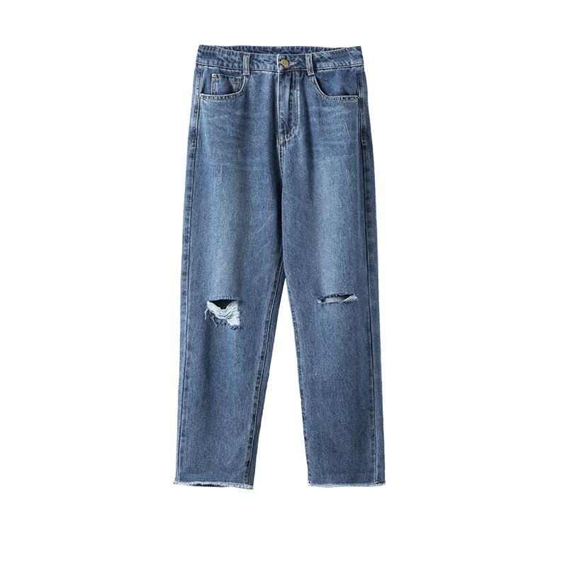 nguồn hàng quần jeans nữ ống rộng giá sỉ trực tiếp tại xưởng quần jeans nữ Thuận Hải HCM