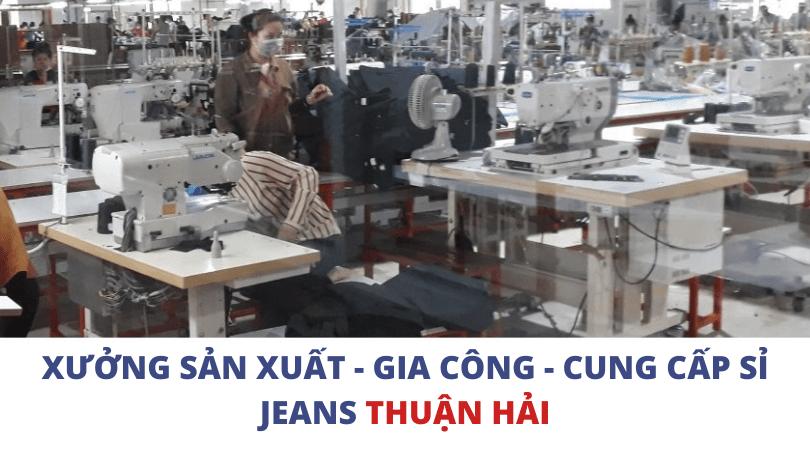Công ty may gia công quần jeans xuất khẩu Thuận Hải