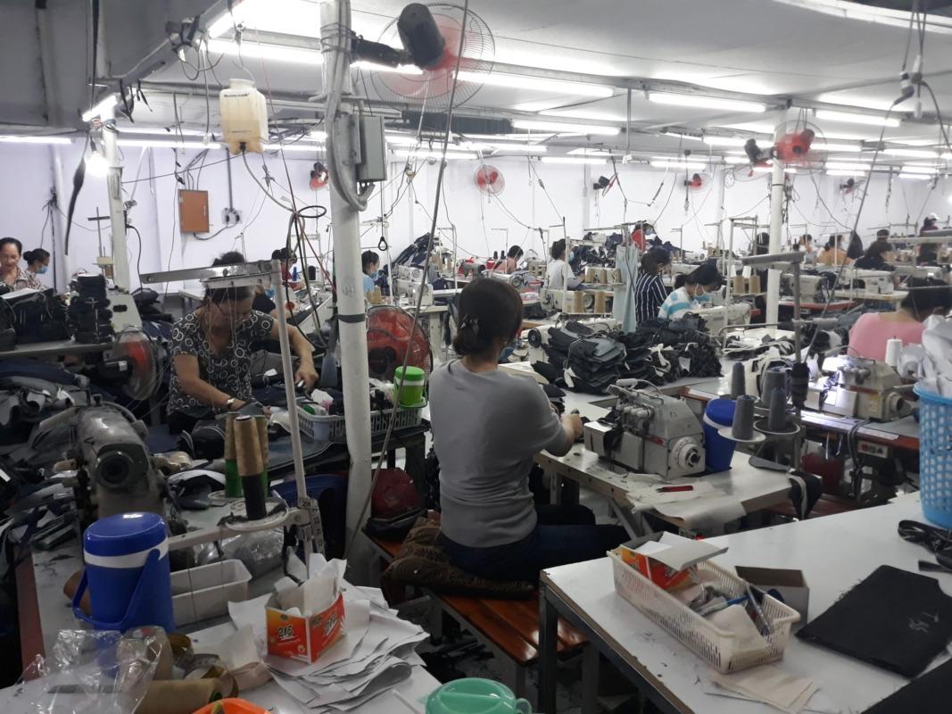 công ty may quần jeans xuất khẩu Thuận Hải TP.HCM