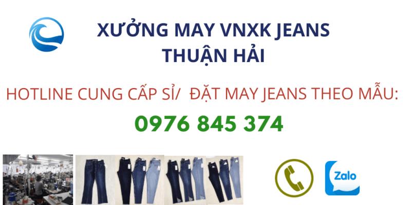 công ty cung cấp quần jeans xuất khẩu Thuận Hải