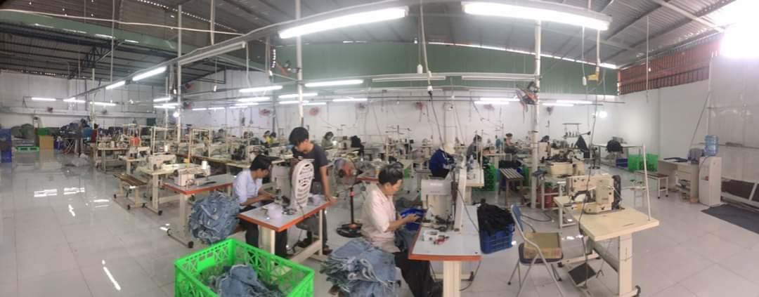 Xưởng chuyên may hàng gia công jeans FOB - Đặt may gia công quần jeans theo mẫu tại xưởng may jeans Thuận Hải